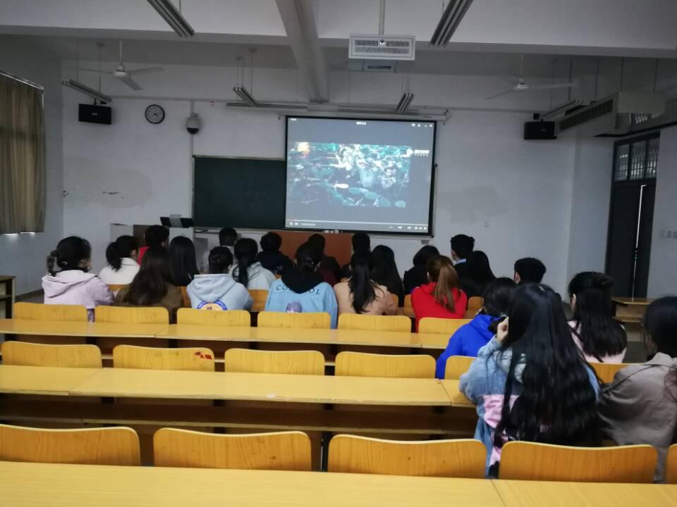 学生第四党支部党日活动3月22日