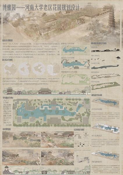 博雅园 河南大学老区花园规划设计