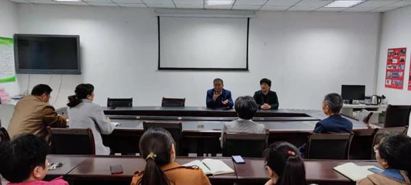 省委党史研究室副主任张守四到新乡市党史研究和地方志编纂室调研