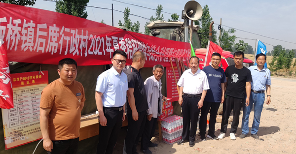 省委党史研究室副主任李海民到定点帮扶村调研指导乡村振兴工作