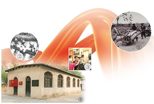 【奋斗百年路 启航新征程】在中国共产党领导下,解放军指战员和人民群众勠力同心、并肩战斗 依靠人民取得解放战争的胜利(峥嵘岁月)