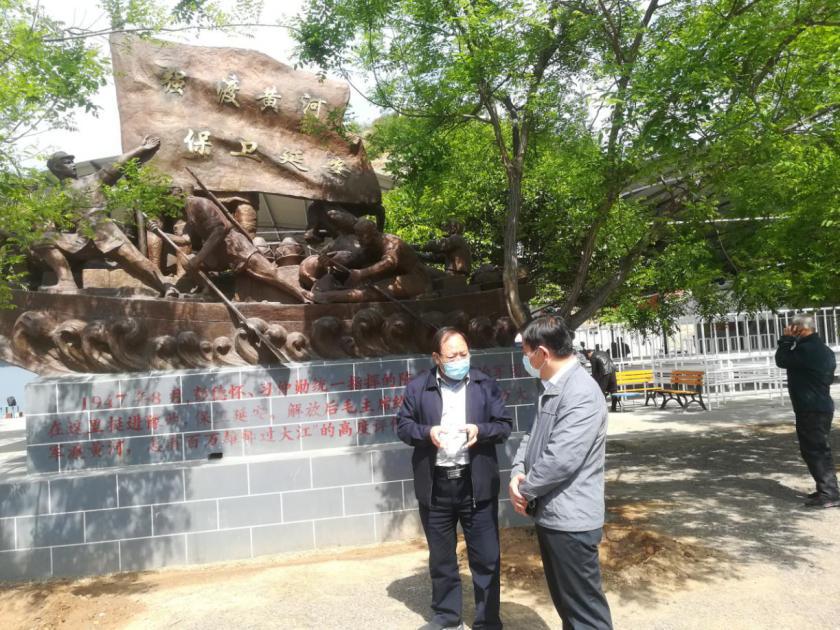 济源市委党史研究室到黄河三峡景区调研红色文化传承弘扬工作