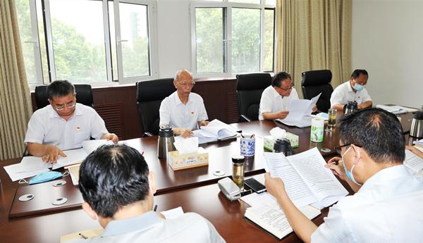 省委党史研究室中心组举行第4次集体学习