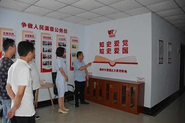 许昌市委党史研究室打造新时代爱国主义教育阵地