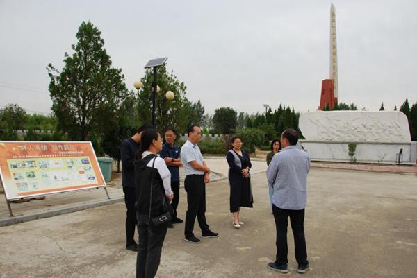 三门峡市委党史方志办到方城、镇平 考察学习党史遗址遗迹保护利用工作