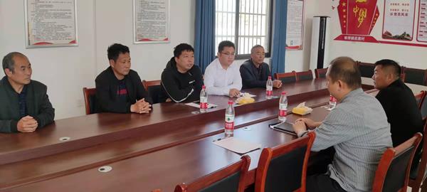周口师范学院驻村第一书记带领两委班子成员到后席村交流乡村振兴工作